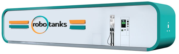 Container gas station robotanks K4 for fuel retail