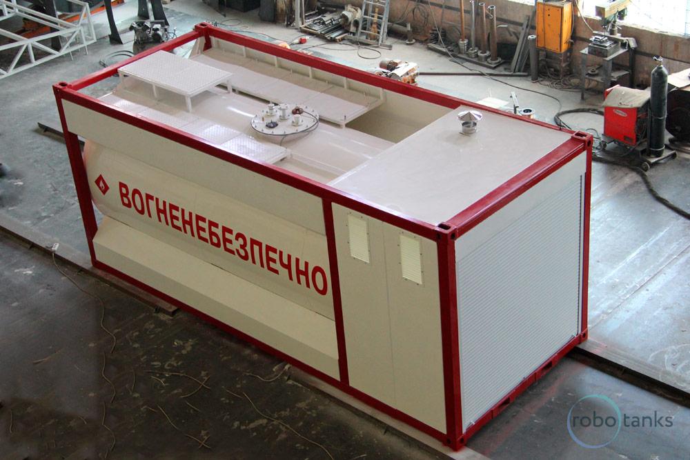 Коммерческая контейнерная АЗС Robotanks K1