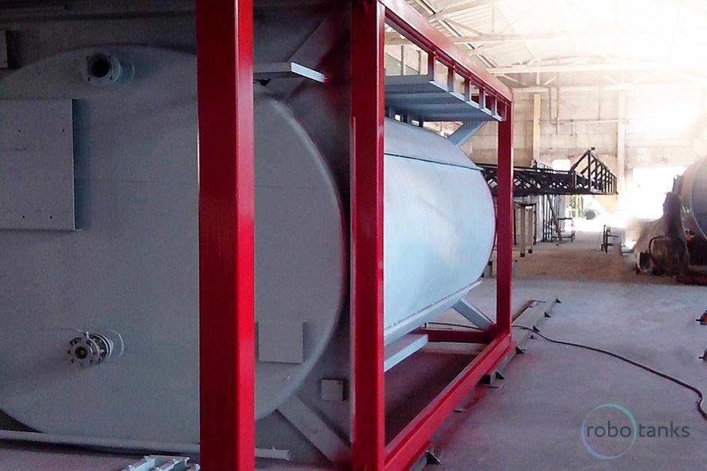 Ведомственная контейнерная АЗС Robotanks K1