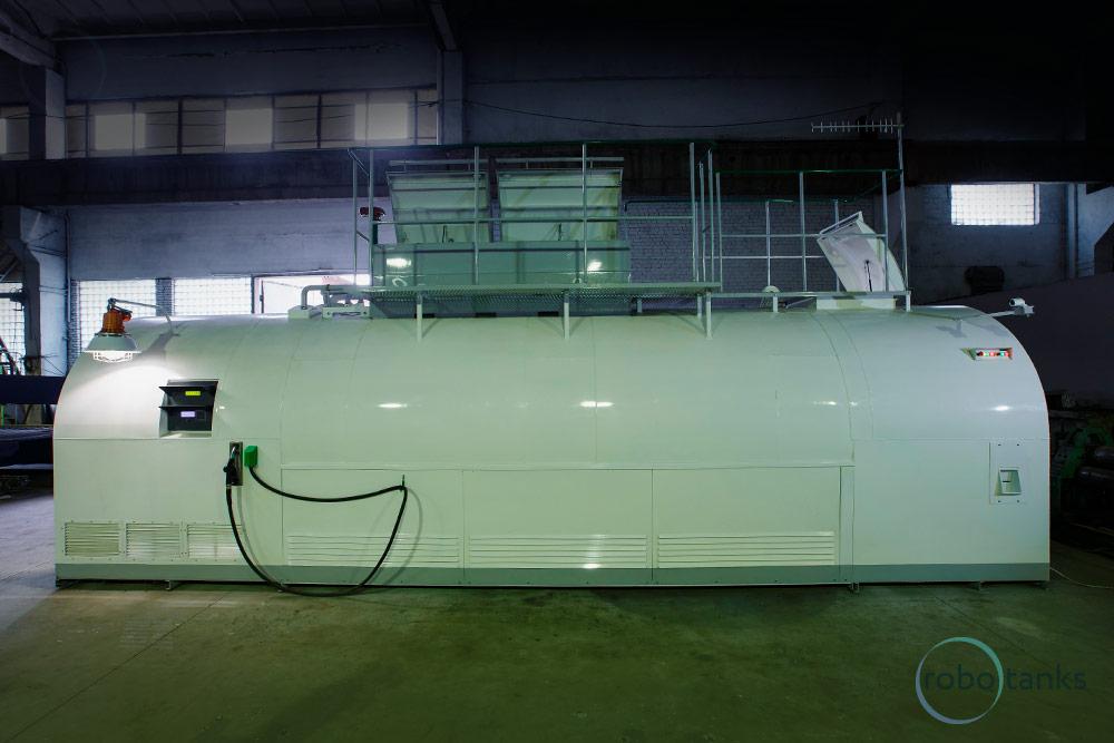 Container fuel station ROBOTANKS K2