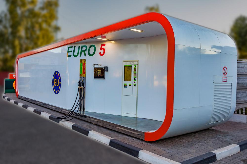 Robotanks k4 container petrol station