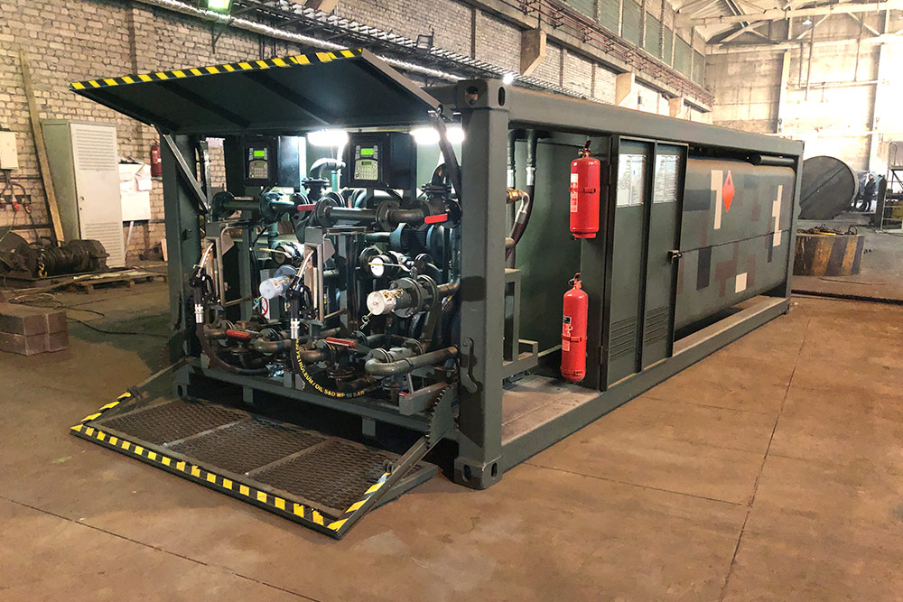 Mobile gas stations - Robotanks KM