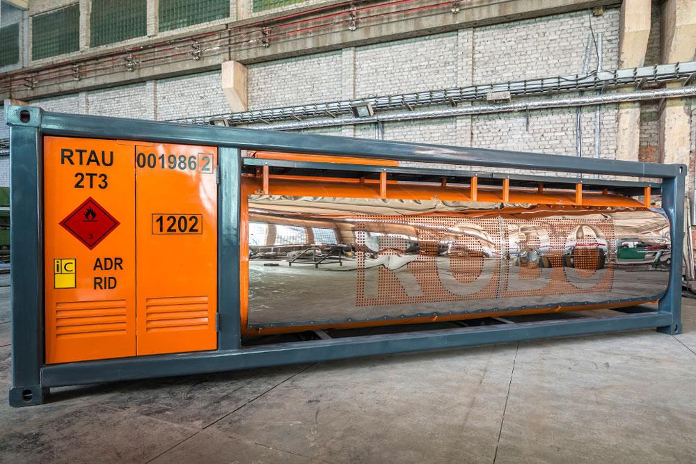 Mobile gas station - Robotanks KM